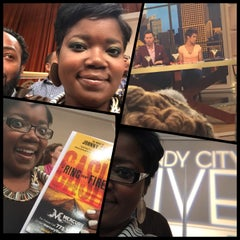 Photo taken at Windy City LIVE @ WLS ABC7 Studios by Chellz on 5/5/2015