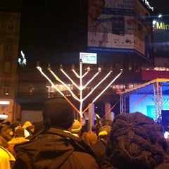 Photo taken at Nyugati tér by Mirella P. on 12/11/2012