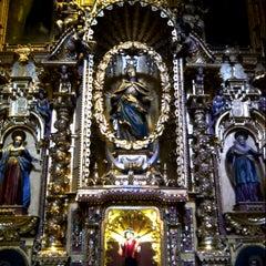 Photo taken at Iglesia San Pedro de Lima by SHIRLEY G. on 4/11/2013