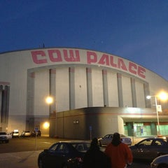Photo taken at Cow Palace by Mark G. on 1/20/2013