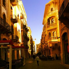Photo taken at Beirut Central District by OverWelming Beirut C. on 10/3/2014