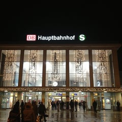 Photo taken at Dortmund Hauptbahnhof by Danijela🍀 on 12/17/2012