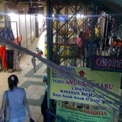 Photo taken at Pasar Pagi by Adhan O. on 1/8/2013