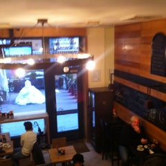 Photo taken at Gundulich cafe by Antonia G. on 1/28/2013