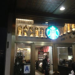 Photo taken at Starbucks by Иван Е. on 12/24/2012