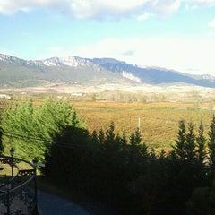 Photo taken at Hotel Villa de Laguardia by Silvia A. on 10/22/2012