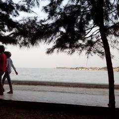 Photo taken at Wisata Pantai Boom Tuban by Nelly K. on 10/5/2013