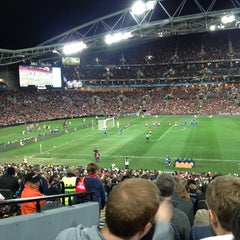 Photo taken at ANZ Stadium by Jose on 7/20/2013