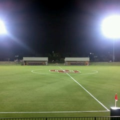 Photo taken at John Crain Field at the OU Soccer Complex by Trevor B. on 9/22/2012