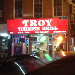 Photo taken at Troy Turkish Grill by Marrin-Boyd A. on 10/8/2014