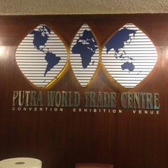 Photo taken at Putra World Trade Centre (PWTC) by Manj on 1/26/2013