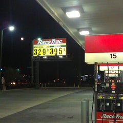 Photo taken at RaceTrac by Mike H. on 11/2/2012