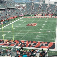 Photo taken at Paul Brown Stadium by Peggy B. on 11/25/2012