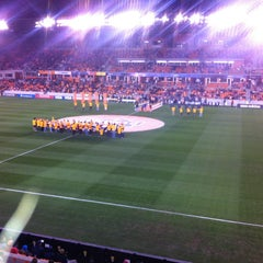 Photo taken at BBVA Compass Stadium by Morgan W. on 3/3/2013