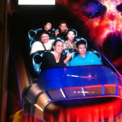 Photo taken at Space Mountain by Jamie B. on 9/25/2012