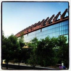 Photo taken at Estadio Vicente Calderón by Javier M. on 8/25/2013