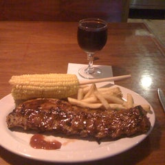 Photo taken at Texas Ribs® by Víctor A. on 10/21/2012