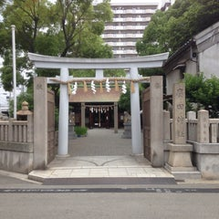 Photo taken at 廣田神社 by JK on 6/22/2014