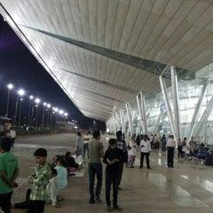 Photo taken at Sardar Vallabhbhai Patel International Airport by Dhaval M. on 10/21/2012