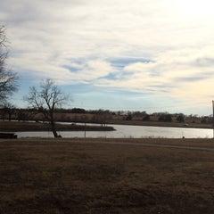 Photo taken at North Lake Park by Kristi C. on 3/10/2014