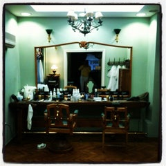 Photo taken at Barber Shop 1900 by Konstantinos M. on 1/4/2013