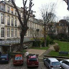 Photo taken at École des Mines by Emilie Q. on 12/6/2012
