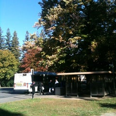 Photo taken at Sac State: Bus Terminal by Meisha L. on 10/29/2012