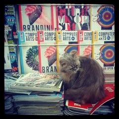 Photo taken at Magazines by Sukanta M. on 3/9/2014