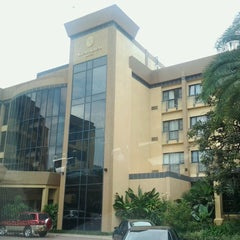 Photo taken at Kigali Serena Hotel by Stephen M. on 2/15/2013