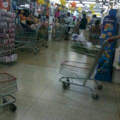 Photo taken at Bom Dia Supermercado by Paulo F. on 10/16/2012