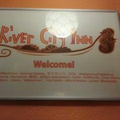 Photo taken at River City Inn Hostel by Di L. on 1/23/2013