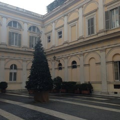 Photo taken at Palazzo Valentini by Lucy B. on 12/14/2012