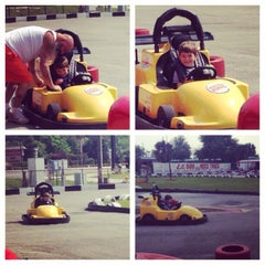 Photo taken at Lil 500 Go Karts by Cara F. on 3/25/2014