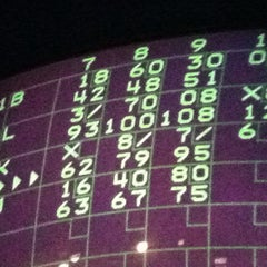Photo taken at Rolling Lanes Bowling Alley by Lexii on 9/16/2012