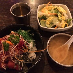 Photo taken at Mikko Japanese Cuisine by MAKIKO I. on 4/2/2016