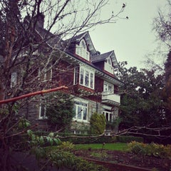 Photo taken at Kurt Cobain's House by Kerry G. on 11/11/2012
