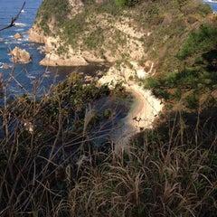 Photo taken at 城原海岸 by いるか&ふぁんしあ on 11/23/2015