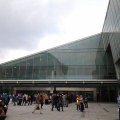 Photo taken at Bibliotheca Alexandrina | مكتبة الإسكندرية by Are Neys on 11/24/2012
