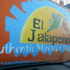 Photo taken at El Jalapeños Authentic Mexican Restaurant by Annelise L. on 10/4/2012