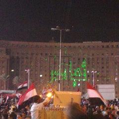 Photo taken at Tahrir Square   ميدان التحرير by Dinaz H. on 7/2/2013