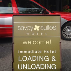 Photo taken at Savoy Suites Hotel by Don M. on 8/8/2014