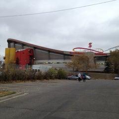 Photo taken at Scotiabank Saddledome by Brandi on 10/3/2012