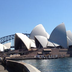 Photo taken at Sydney Opera House by Alicia P. on 4/11/2013