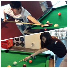 Photo taken at Unimas Bowling Alley by Tie L. on 11/20/2015