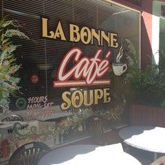 Photo taken at La Bonne Soupe Cafe by Samdra M. on 10/9/2012