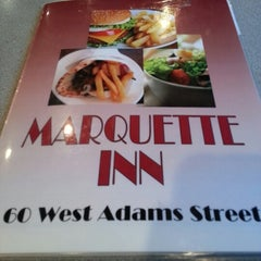 Photo taken at Marquette Inn Restaurant by Claire C. on 12/26/2012