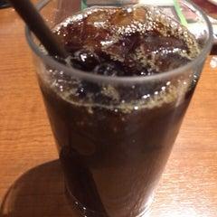 Photo taken at CAFÉ de CRIÉ 道玄坂上店 by Makoto F. on 4/1/2014