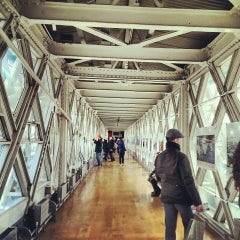 Photo taken at Tower Bridge Exhibition by Jonathan C. on 3/3/2013