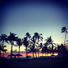 Photo taken at Kaimana Beach Park by kelly f. on 7/6/2013