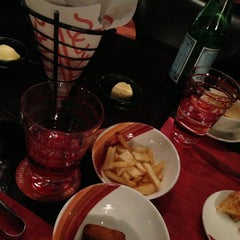 Photo taken at Chamas Churrascaria & Bar مطعم شاماس البرازيلي by Lady Jaja on 1/19/2013